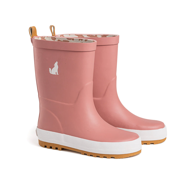 CRYWOLF Gumboots Dusty Rose in pink