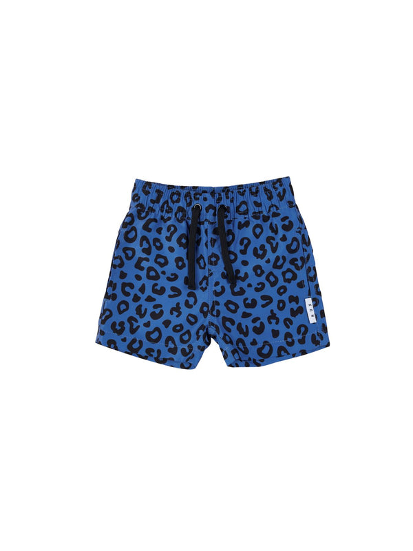 Huxbaby Animal Swim Short in blue