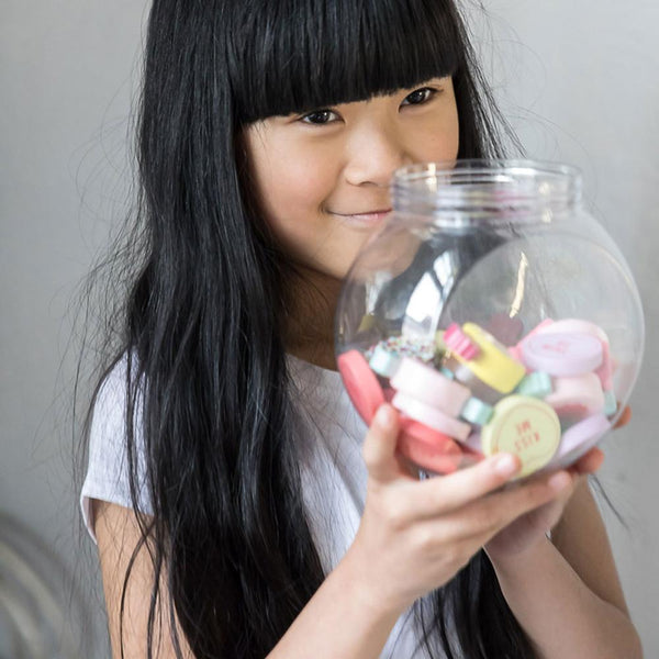 Make Me Iconic Candy Jar in multi colour print