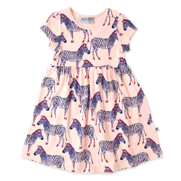 Minti Zebra Ballerina Dress Ballet in pink
