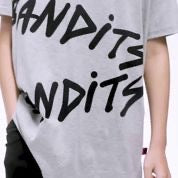 Band of boys BAN SS Tee Bandits Repeat oversized in grey