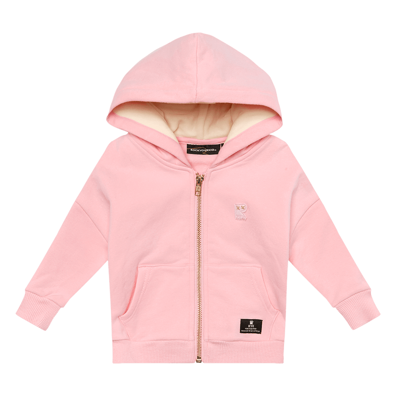 Rock Your Baby Fairy Wing Hoodie in pink