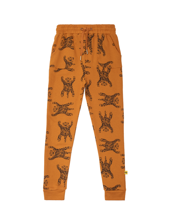 Band of Boys Skinny Track Pants Easy Tiger Repeat in  ochre