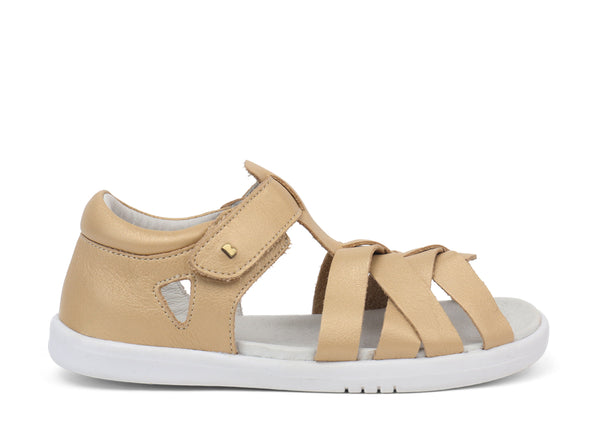 Bobux Kid+ Tropicana Quick Dry Sandal in Gold