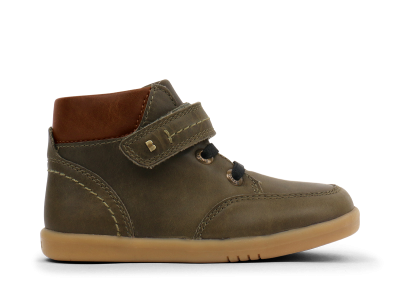 Bobux I walk  & Kid+ Timber Boot Olive