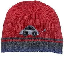 toshi-boy-s-beanie-bizzy---red-in-red