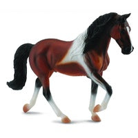 Collecta Tennessee Horse Stallion Bay Pinto (XL)