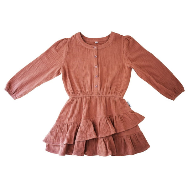 Duke of London Boho Dress in Pink