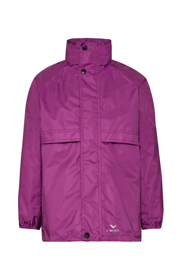 Rainbird Stowaway Waterproof jacket purple