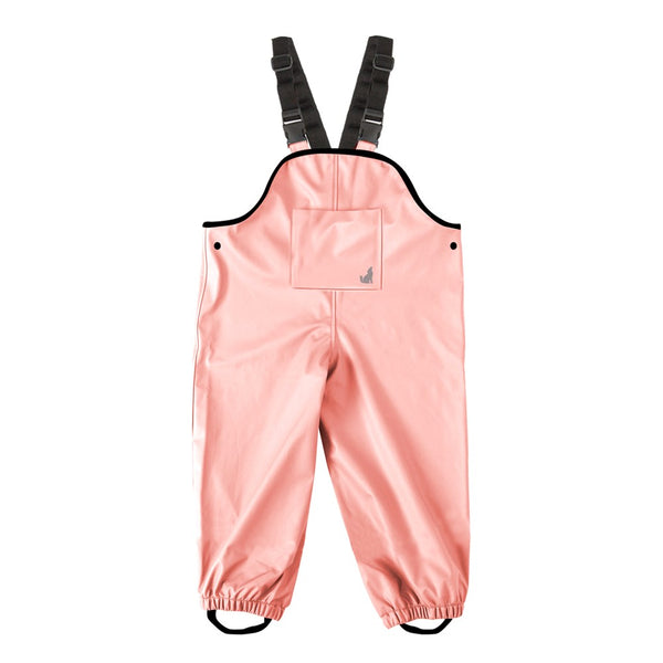 Crywolf Rain Overalls in Pink