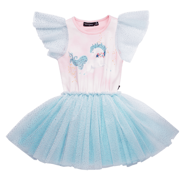 Rock your baby Sparkle Dream circus dress in pink