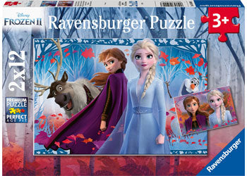 Ravensburger Puzzles Frozen 2 Journey to the unknown 2 x 12 Pc   3+