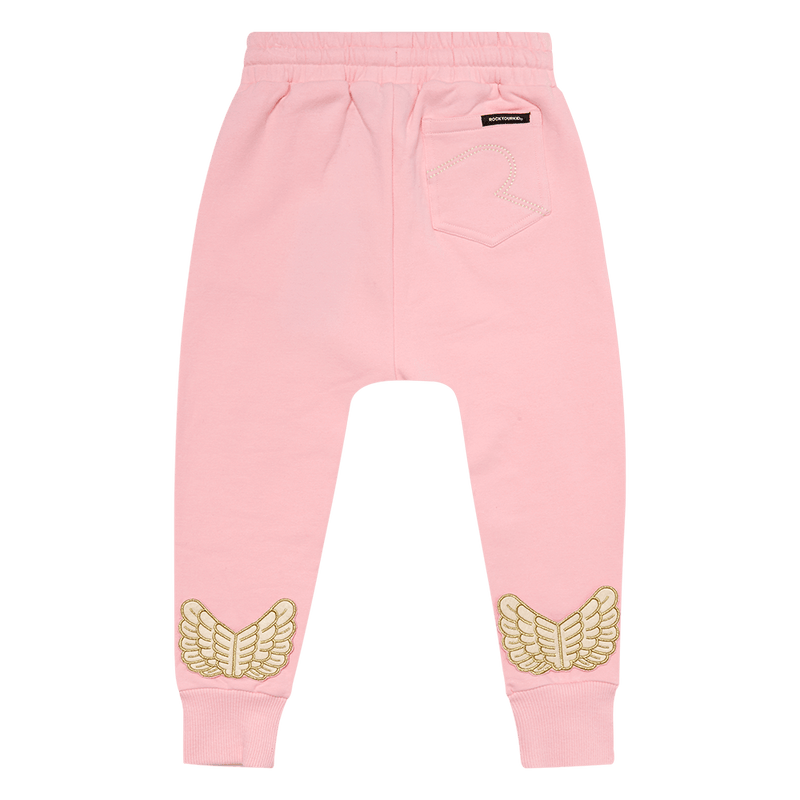 Rock Your Baby Fairy Trackpants in pink