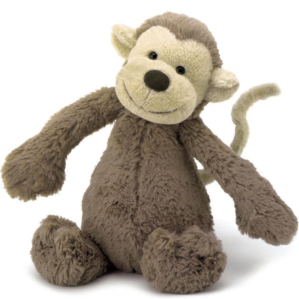Jellycat Monkey Medium in brown
