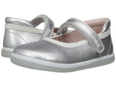Bobux Twirl Ballet Maryjane in Silver I-walk and K Plus