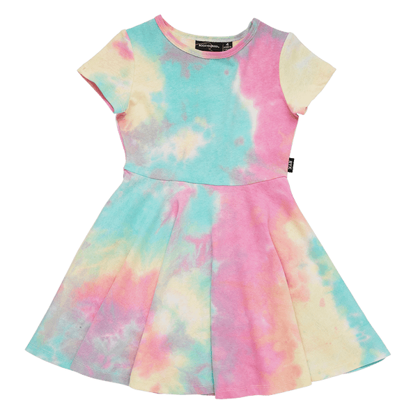 Rock Your Baby Festival Tie Dye Waisted Dress