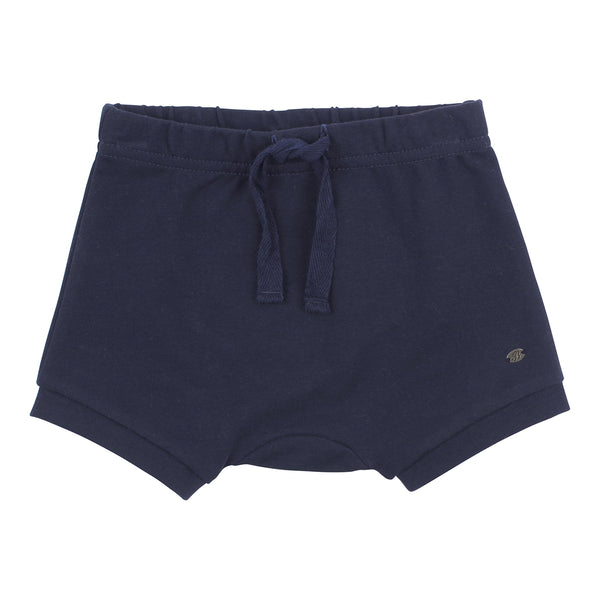 Bebe Ethan Dino Shorts in Navy