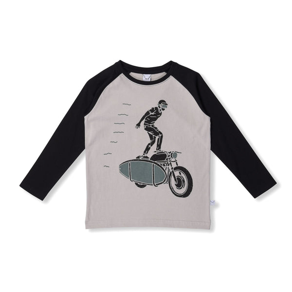 littlehorn-stunt-biker-tee---slate-black--in-grey