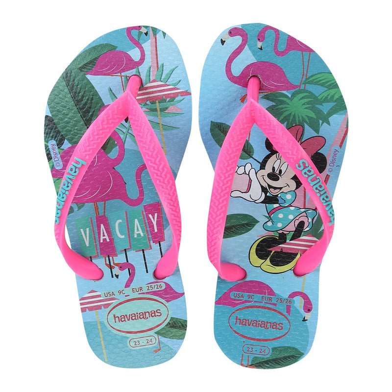 Havaianas Kids Rubber thongs Disney cool in multi colour print