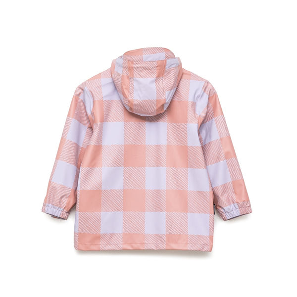 Crywolf Play Jacket Lilac Plaid