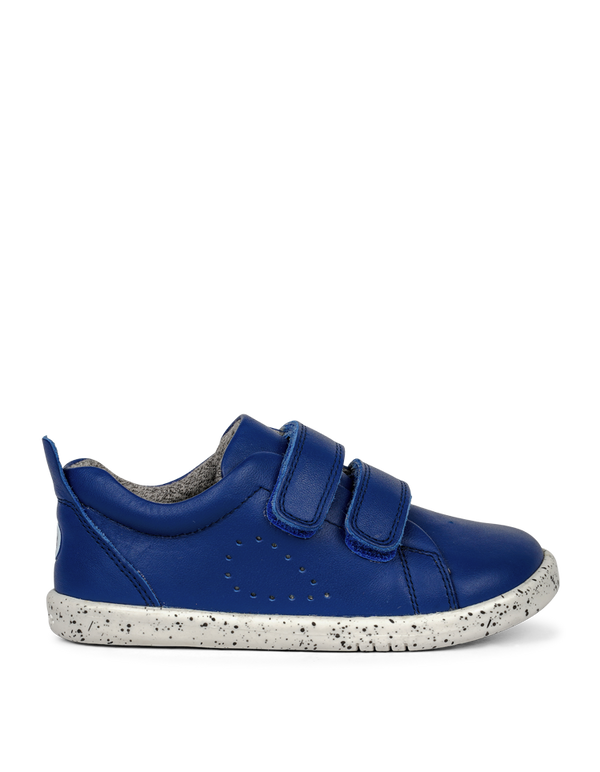 Bobux IWalk Grass Court Blueberry in blue
