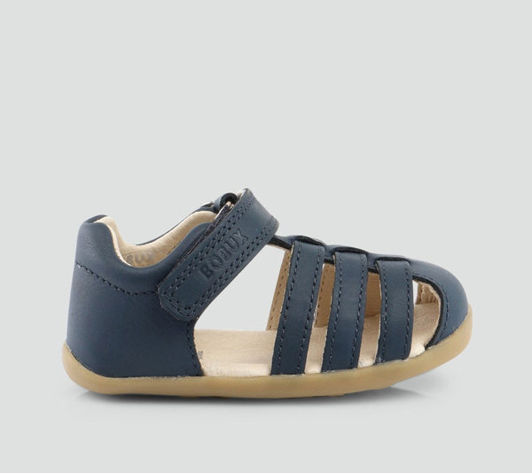 Bobux step up Jump Sandal in navy