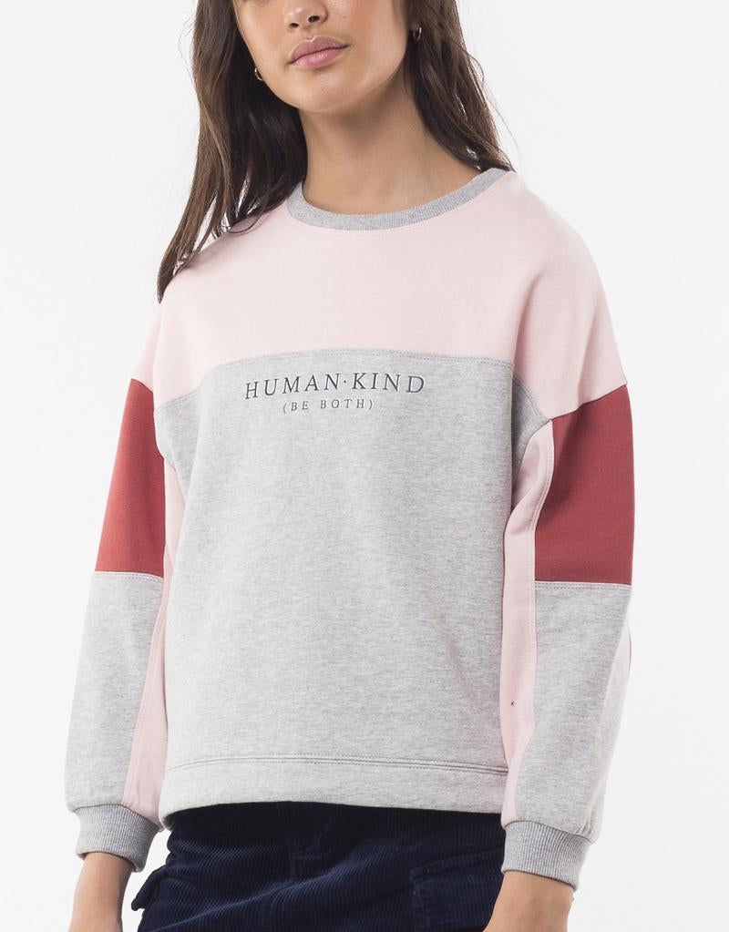 Eve Girl Be Kind Fleece Jumper