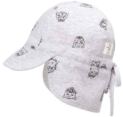 toshi-flap-cap-bambini-big-cats-in-multi colour print