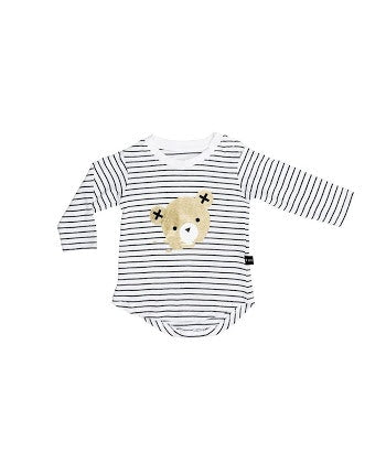 hux-baby-stripe-long-sleeve-top-in-multi colour print