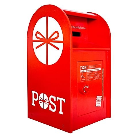 post-box-in-red
