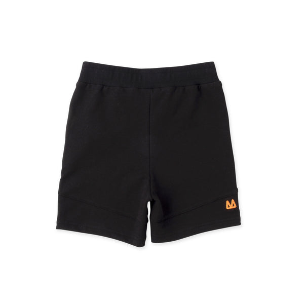Minti Sliced Shorts in Black