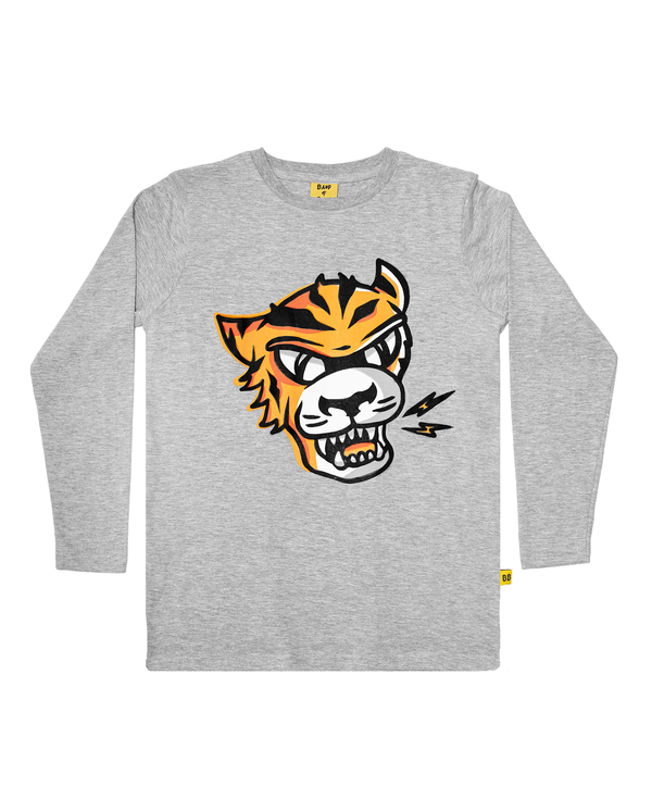 Band of Boys LS T-Shirt  Eye of the Tiger in marle grey