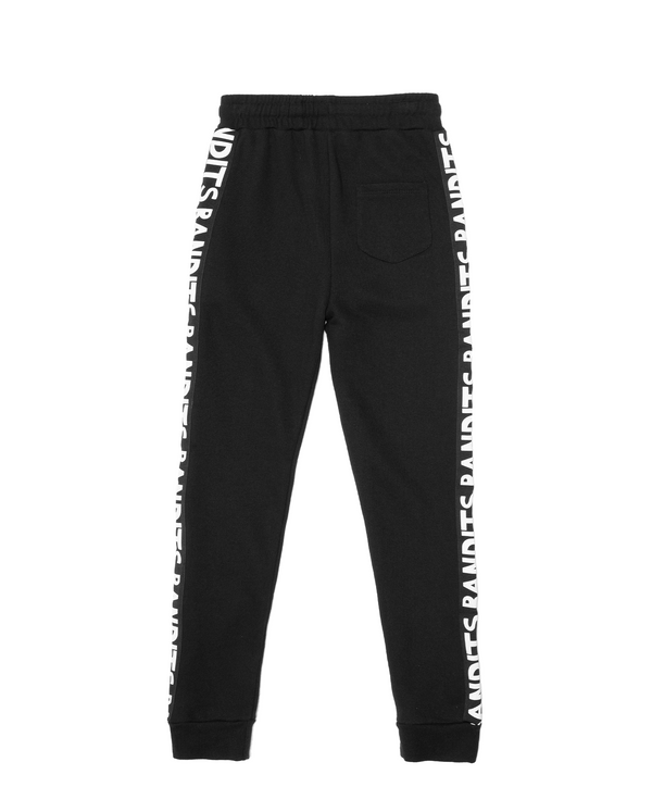 Band of Boys Bandits Trackies Skinny Bandit Tape in black
