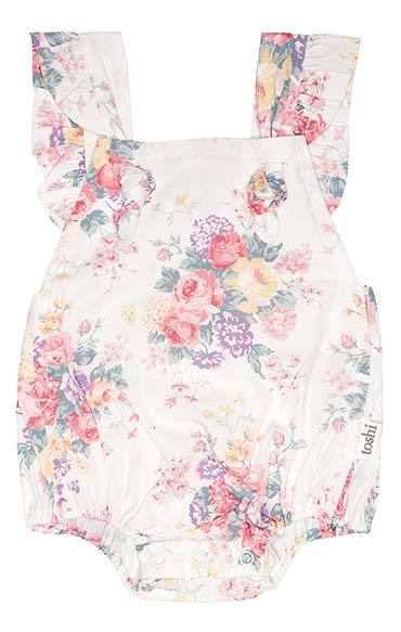 Toshi Romper Beatrice in multi colour print