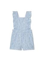 Milky Clothing Denim Playsuit in Chambray