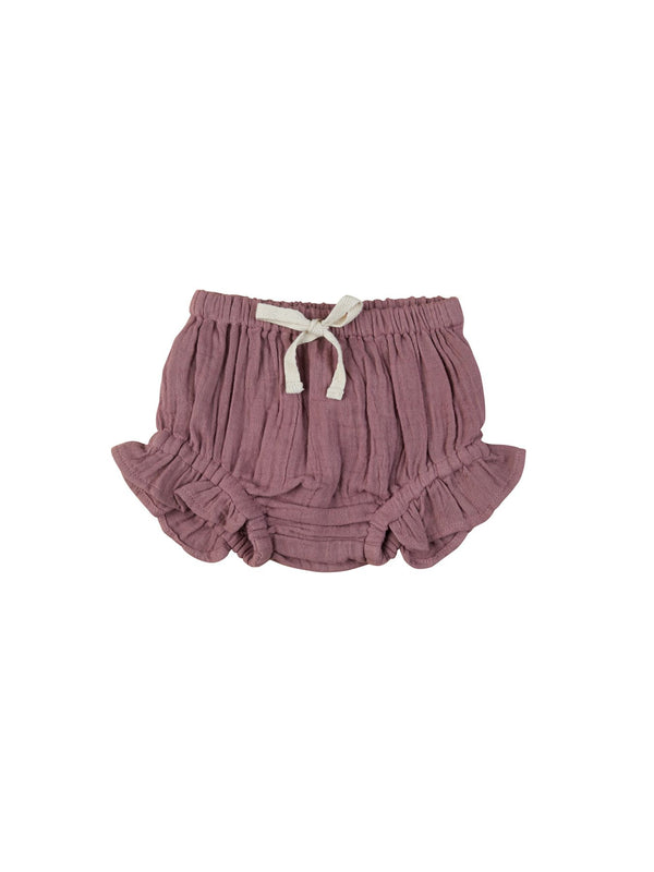 Huxbaby Frill Bloomer in Mulberry