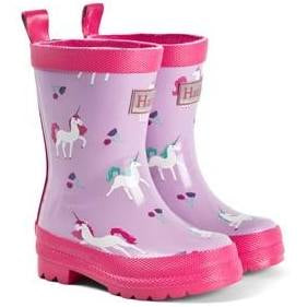 Hatley Playful Unicorns Rain Boot in Lilac
