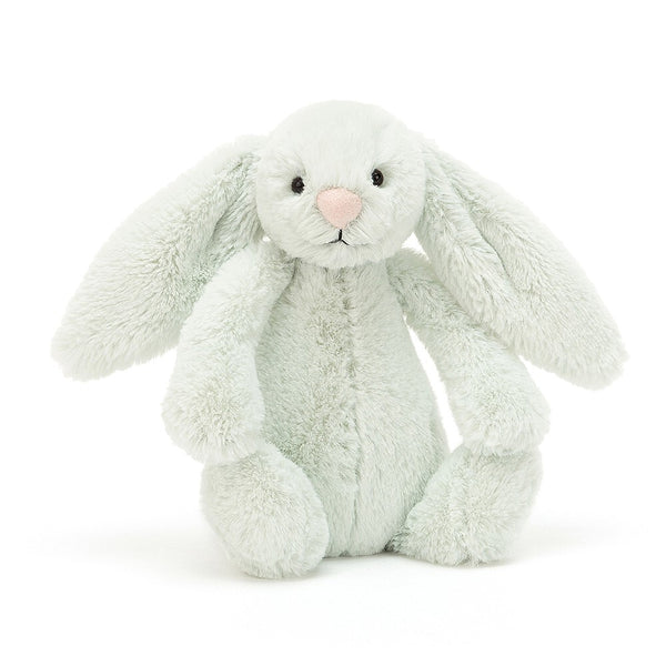 Jellycat Bashful  Bunny Medium Seaspray in green
