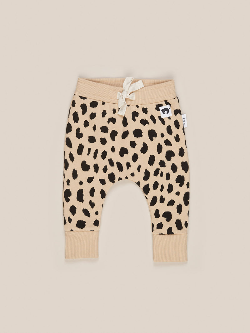 Huxbaby animal spot drop crotch pant