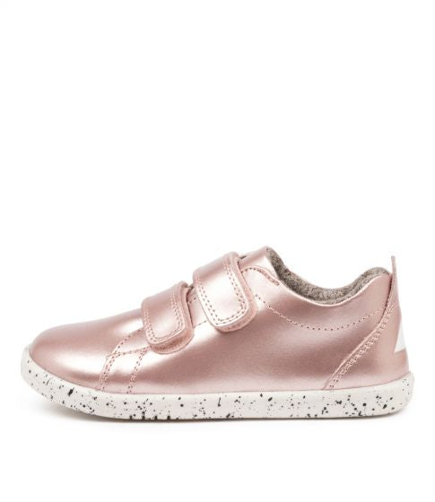 Bobux Kid+  Grass Court Rose Gold in Pink