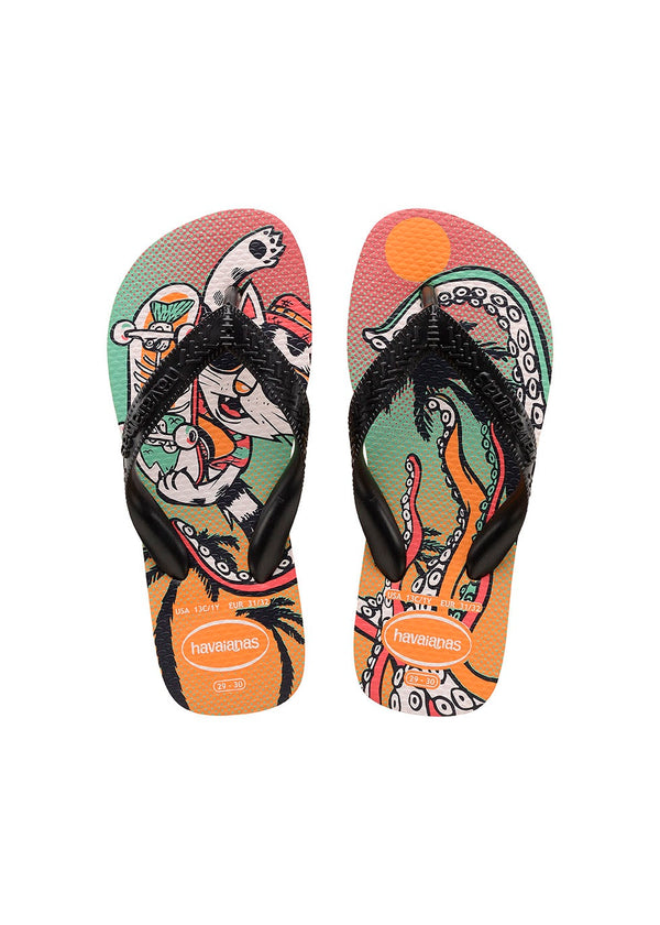 havaianas-kids-cool-cat-in-multi colour print