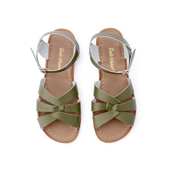 ladies-original-salt-water-sandals---olive-in-green