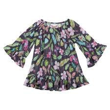 frilled-coverup-tropical-in-multi colour print