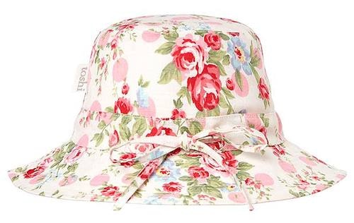 toshi-sunhat-meadow-lilly-in-multi colour print