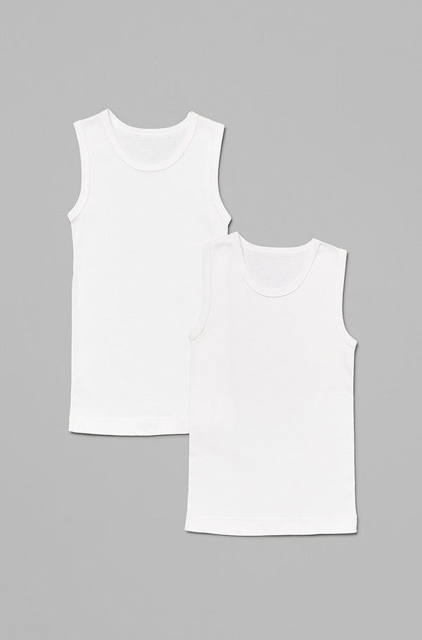 kids-unisex-singlets-in-white