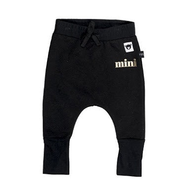 huxbaby-black-jersey-high-cuff-pant-in-black