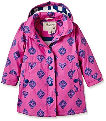hatley-splash-jacket-fuscia-medallions--in-pink