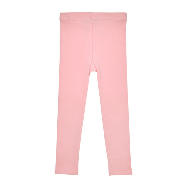 the back view of the rock your baby pink brushed cotton tights TGL205-PI