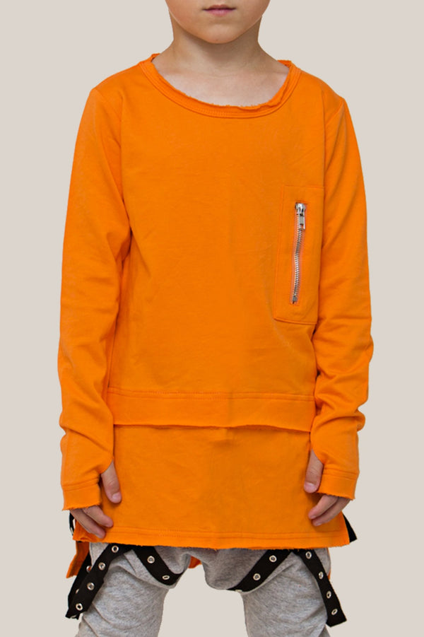 zipper-conversion-long-sleeve-tee-in-orange