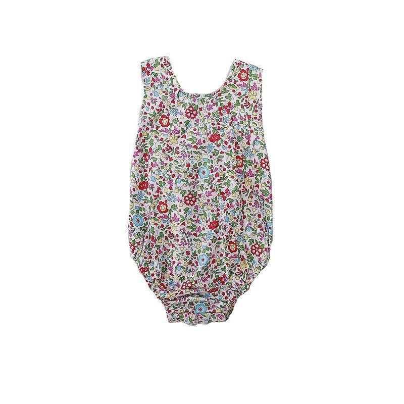 Peggie Anais Playsuit Spring Floral in multi colour print